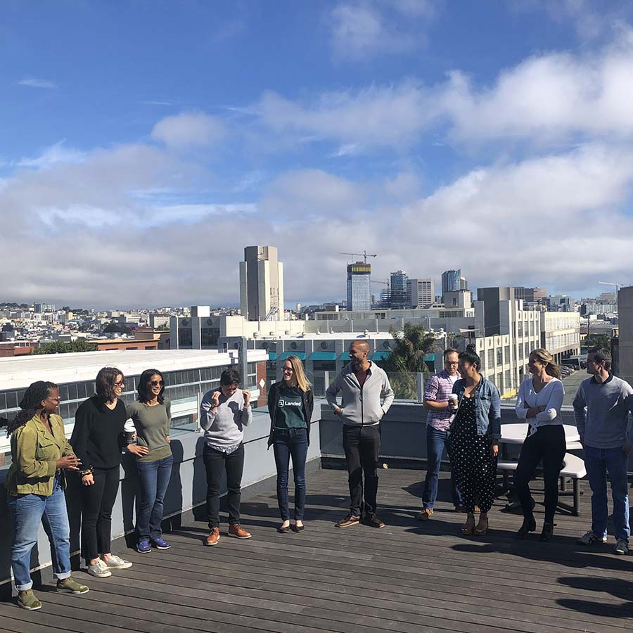 The Landed team at an offsite in San Francisco